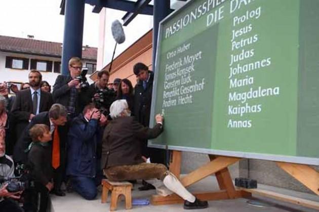 Spielerwahl Passionsspiele Oberammergau