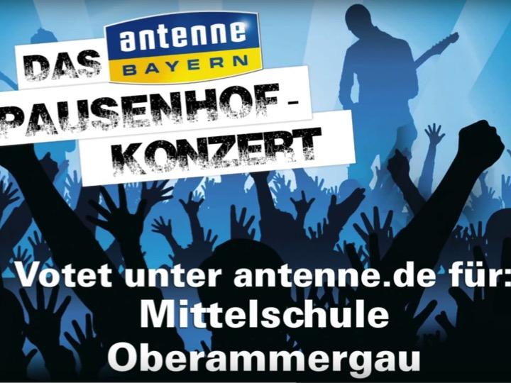 Mittelschule Oberammergau – ANTENNE BAYERN Pausenhof-Konzert