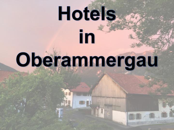 Hotel Oberammergau